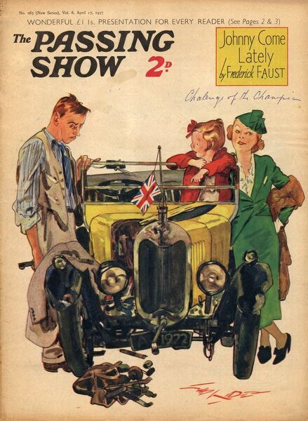 1930s,UK,Passing Show,Magazine Cover