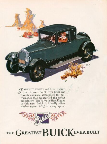 Buick 1926 1920s USA cc cars driving