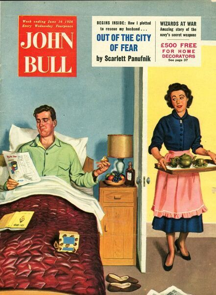 John Bull 1950s UK breakfast in bed fatherA•s day #7075401