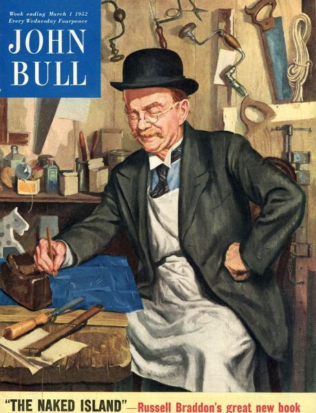 John bull 1956 1950s uk carpenters capentry diy magazines do it john bull 1956 1950s uk carpenters capentry diy magazines do it yourself solutioingenieria Gallery