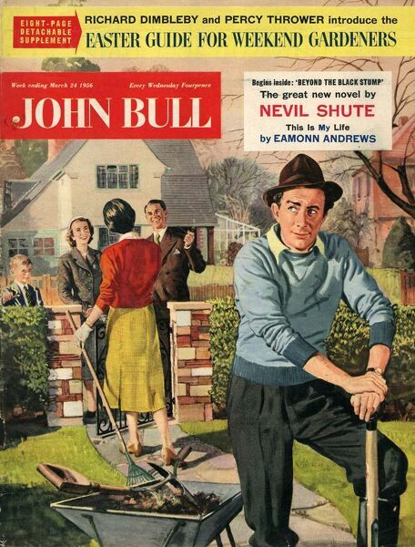 John Bull 1956 1950s UK couples neighbours magazines