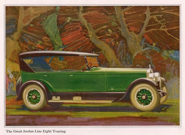 Jordan Line Eight Touring Car 1925 1920s USA cc cars