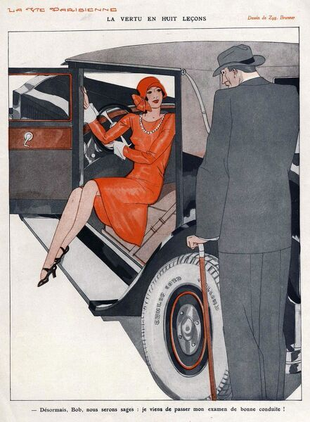La Vie Parisienne 1920s France CC cars