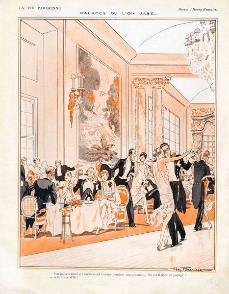 La Vie Parisienne 1926 1920s France cc ballrooms art deco tea ballrooms party