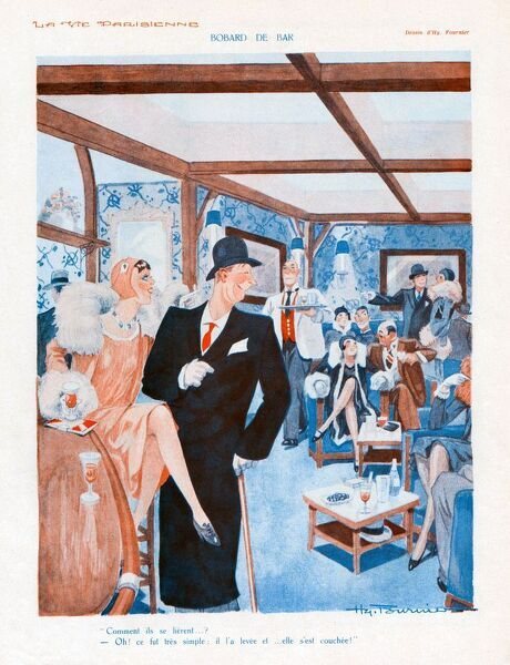 La Vie Parisienne 1930 1930s France cc bars drinking hotels