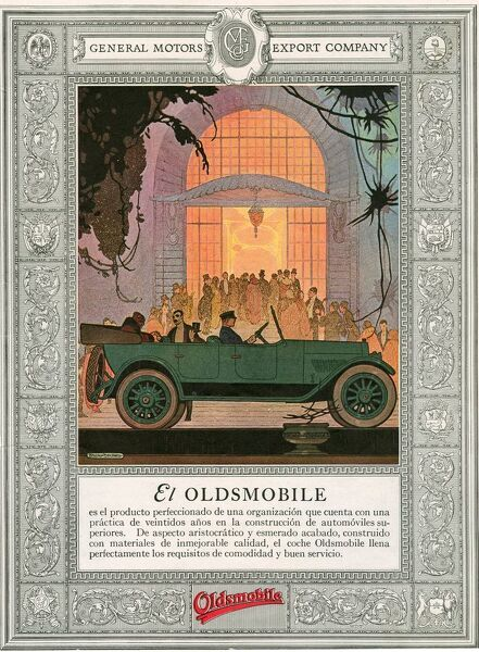 Oldsmobile 1920 1920s USA cc cars