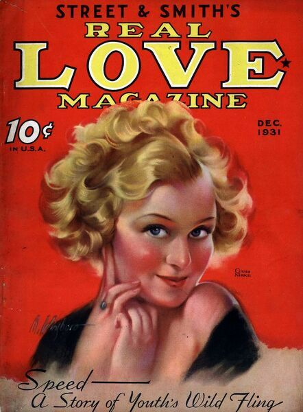 Street and Smith?s Real Love Magazine 1930s USA    magazines Smiths
