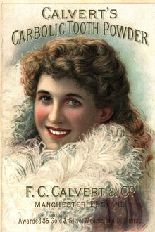 1890s UK calvert toothpaste