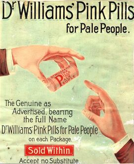 1890s UK dr williams pin pills medical medicine