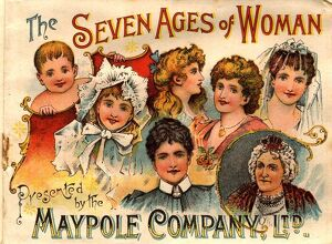 1890s UK maypole ageing The seven ages of woman