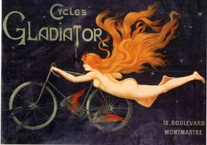1905 1900s France gladiator bicycles bikes cycling cycles Massias