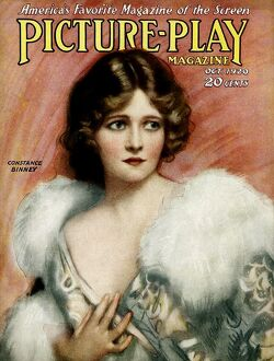 1920s UK Picture Play Magazine Cover
