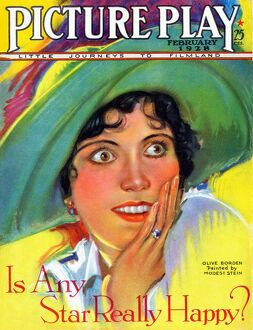 1920s USA Picture Play Magazine Cover