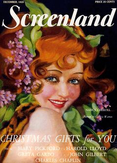 1920s USA Screenland Magazine Cover