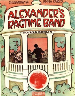 1920s USA sheet music jazz irvin berlin alexanders ragtime band