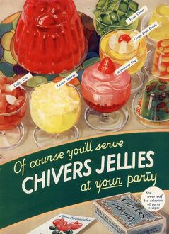 1930s UK chivers jelly