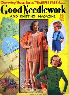 1930s UK Good Needlework and Knitting Magazine Cover