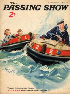 1930s,UK,The Passing Show,Magazine Cover