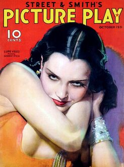 1930s USA Picture Play Magazine Cover