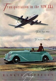 1940s UK aviation hawker siddeley cars aeroplanes air
