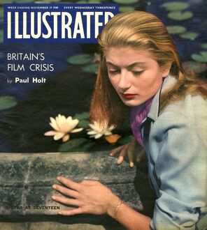 1940s UK Illustrated Magazine Cover