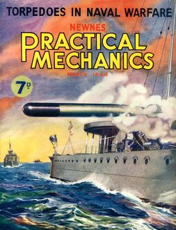 1940s UK Practical Mechanics Magazine Cover