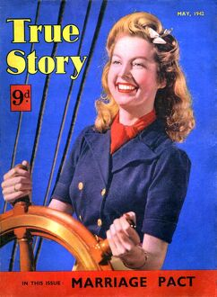 1940s UK True Story Magazine Cover