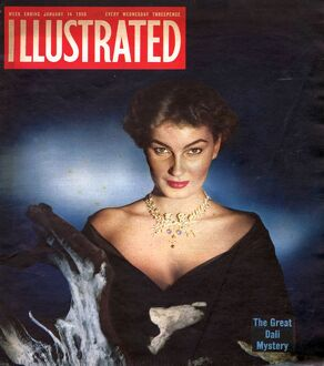 1950s UK Illustrated Magazine Cover