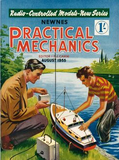 1950s UK Practical Mechanics Magazine Cover