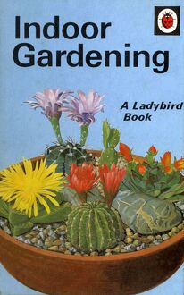 1960s,UK,Ladybird Indoor Gardening,Book Cover