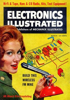 1960s,USA,Electronics Illustrated,Magazine Cover