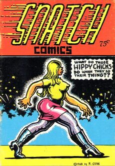 1960s,USA,Snatch Comics,Comic/ Annual Cover