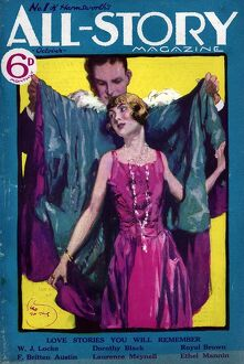 All-Story 1927 1920s UK first issue womens magazines clothing clothes