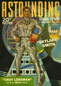 Astounding Science Fiction 1939 1930s USA visions of the future space pulp fiction