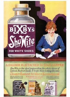 Bixbys 1920s USA shoes shoe white products clothing clothes