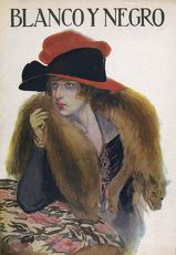 Blanco y Negro 1921 1920s Spain cc furs hats womens foxes magazines