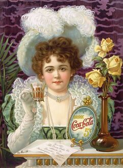 Coca-Cola 1890s USA iws womens hats
