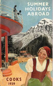 Cooks Holidays Abroad 1939 1930s UK mcitnt holidays Cook's Thomas Cook travel