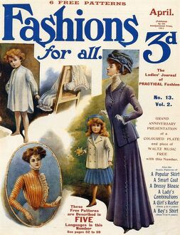 Fashion For All 1909 1900s UK magazines