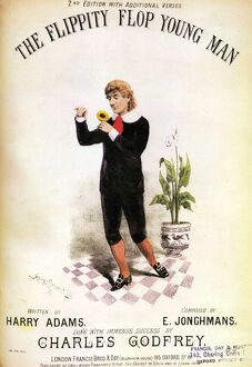The Flippity Flop Young Man 1882 1880s UK fey camp men gay