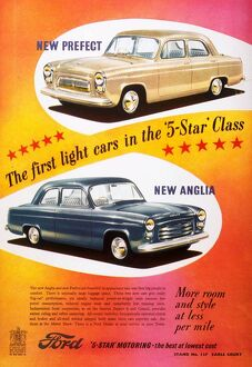 Ford Prefect/ Ford Anglia 1950s UK cars