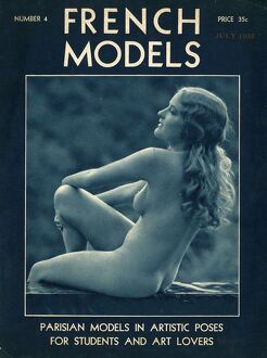 1930s/french models 1930s usa nudes nudity naked magazines