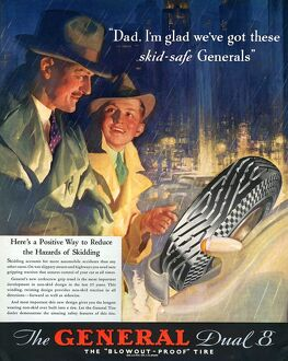 The General 1930s USA tyres