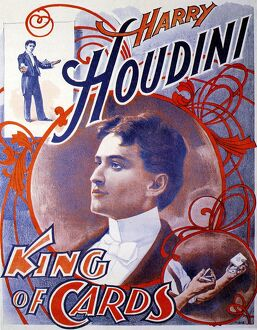 Harry Houdini 1910s UK escapologist magicians born 1874 Eric Weiss