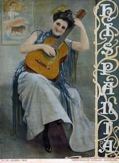 Hispania 1900 1900s Spain cc magazines guitars playing instruments musical
