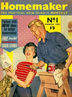 Homemaker 1959 1950s UK first issue DIY decorating