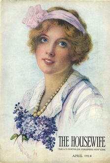 The Housewife 1914 1910s UK housewives housewife womens portraits magazines clothing