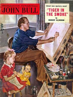 John Bull 1950s UK art artists fathers and daughters magazines