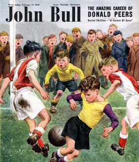 John Bull 1950s UK football children magazines