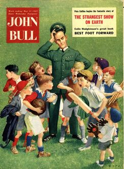 John Bull 1950s UK football cricket magazines